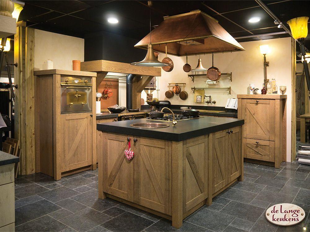 Eiken Keuken Beitsen : Handgemaakte eiken keuken Besthem De Lange Keukens