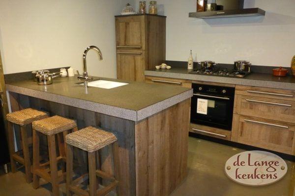 Eiken houten keuken Spinnerij RT