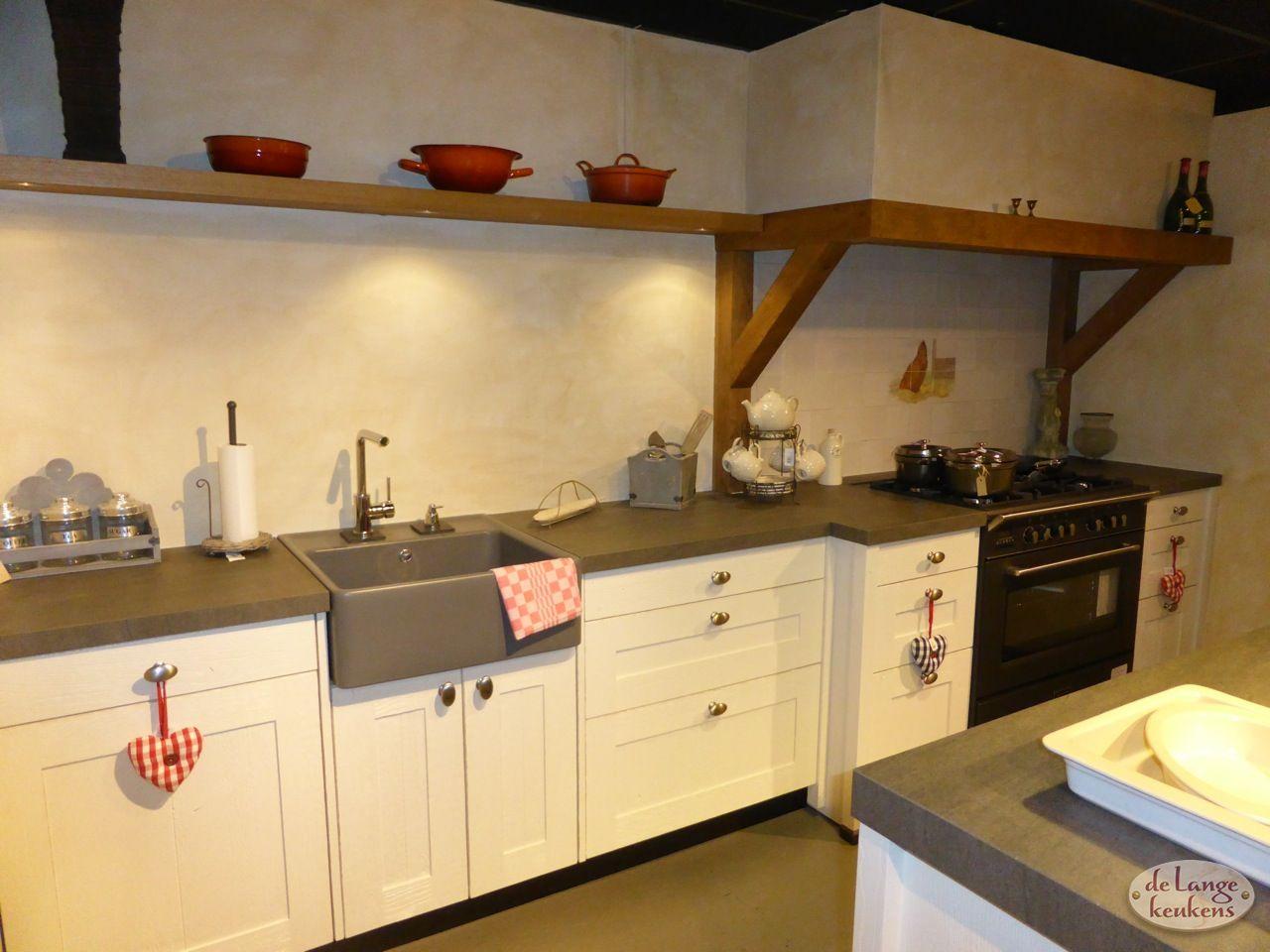 Keuken Landelijk Kookeiland : Keuken inspiratie landelijk met kookeiland de lange keukens