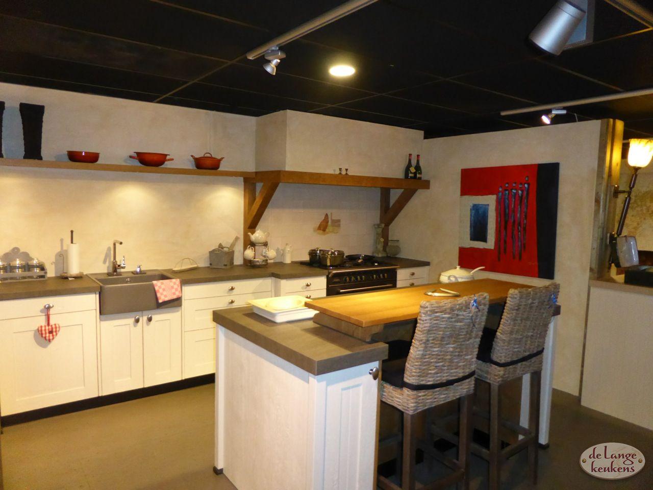 Keuken Landelijk Kookeiland : Landelijke keukens met kookeiland middelkoop keukens culemborg