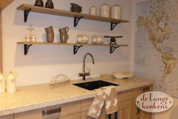 Keuken inspiratie: stoere houten keuken