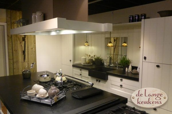 Witte landelijke keuken Landleven
