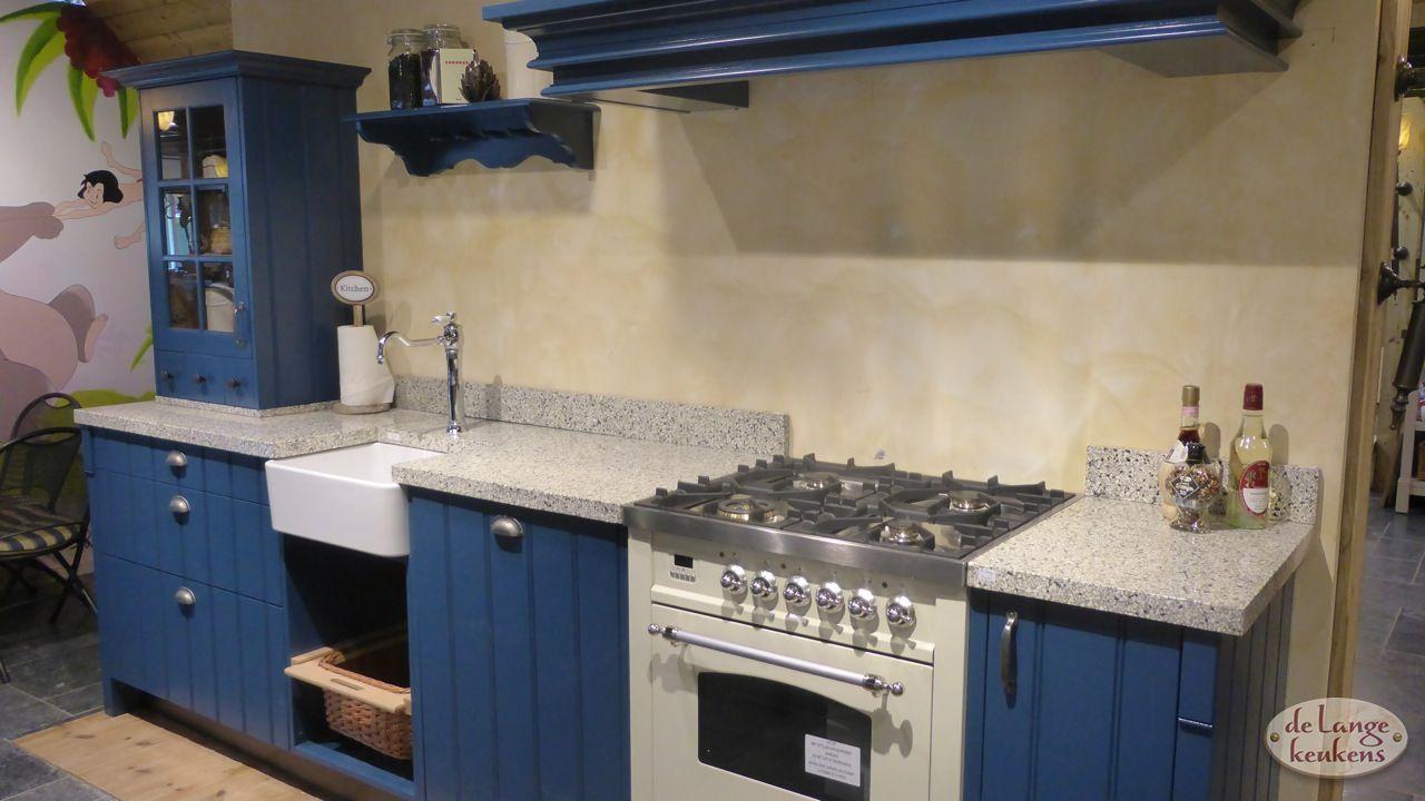 Moderne Blauw Keuken : Inspiratie keuken klassiek blauw elzas de lange keukens