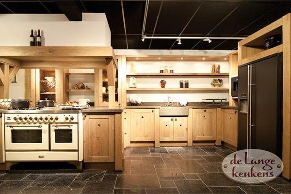 Landelijke houten keuken Woodline antica
