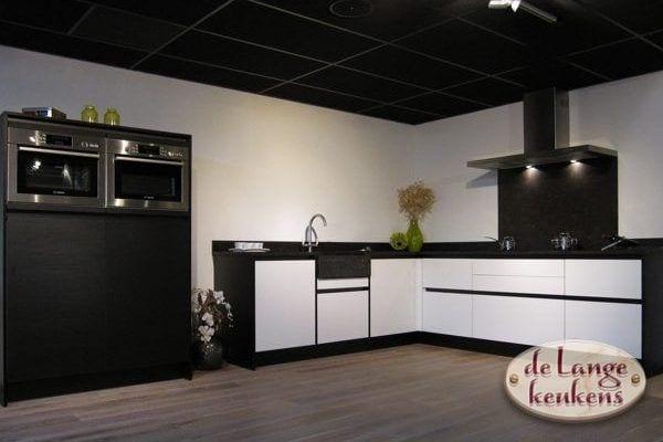 Keuken inspiratie: zwart wit keuken