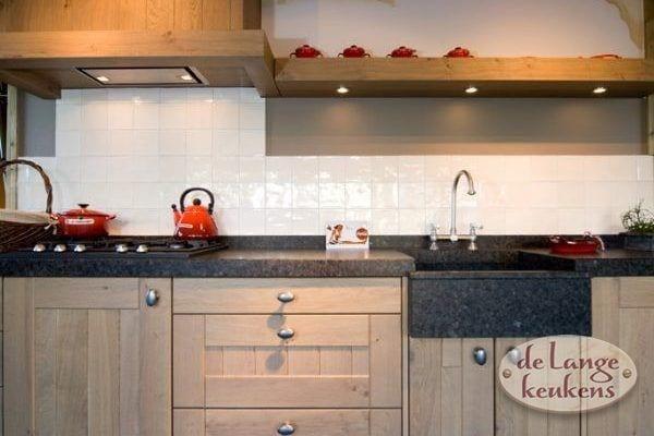 Keuken inspiratie: houten rechte keuken