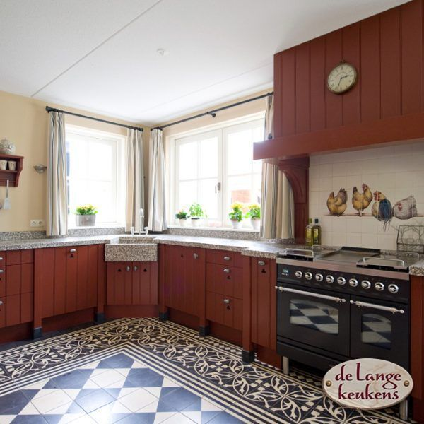 keuken inspiratie landelijke hoek keuken de lange keukens