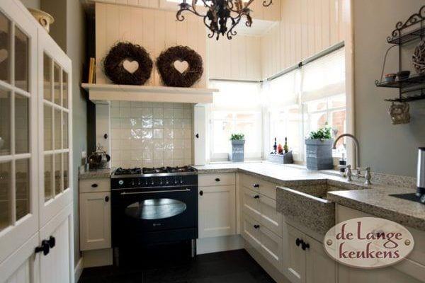 Keuken inspiratie: Landelijke romantische keuken