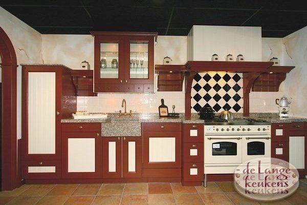 Keuken inspiratie moderne keuken zwart en hout de lange keukens