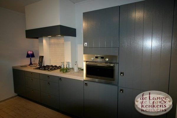 Keuken inspiratie: grijze landelijke keuken - De Lange Keukens