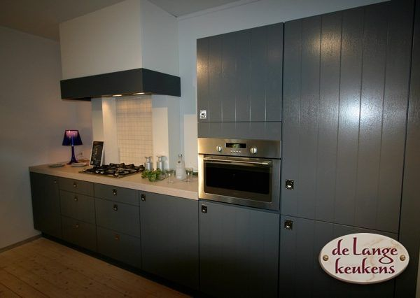 Keuken Landelijk Grijze : Keuken inspiratie: grijze landelijke keuken de lange keukens