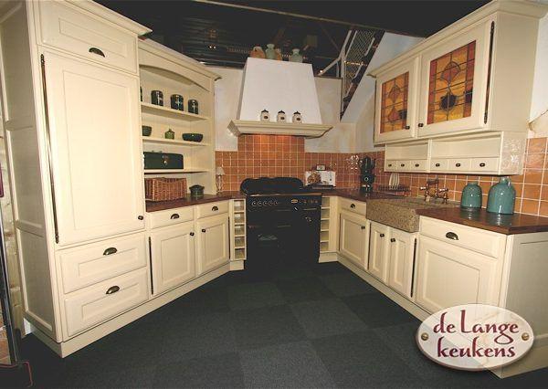 Keuken Landelijk Creme : Keuken inspiratie crème kleurige keuken de lange keukens