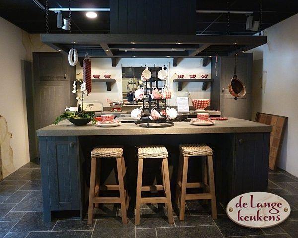 Extreem Keuken inspiratie: donkere landelijke keuken - De Lange Keukens #EA12