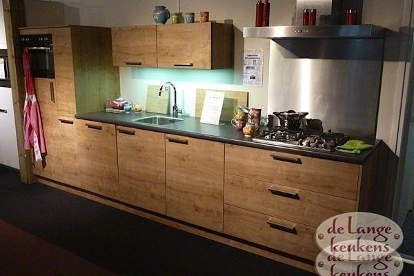 Keuken inspiratie: houtkleurige keuken