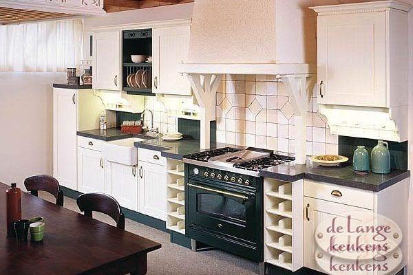 Keuken inspiratie: landelijke keuken hoek   de lange keukens