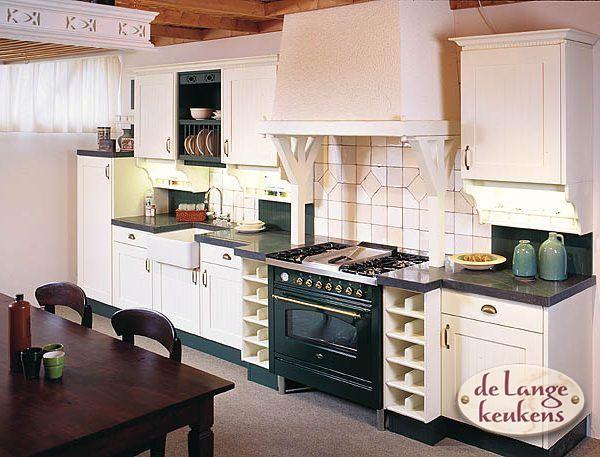 Keuken inspiratie: witte landelijke keuken - De Lange Keukens