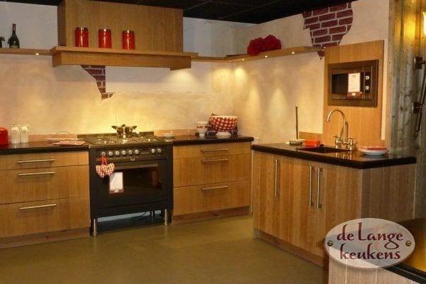 Keuken inspiratie: landelijke keuken hout
