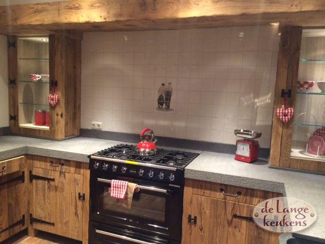 Houten Keuken Trapje : Zoekt u een houten keuken op maat? Kom langs bij De Lange