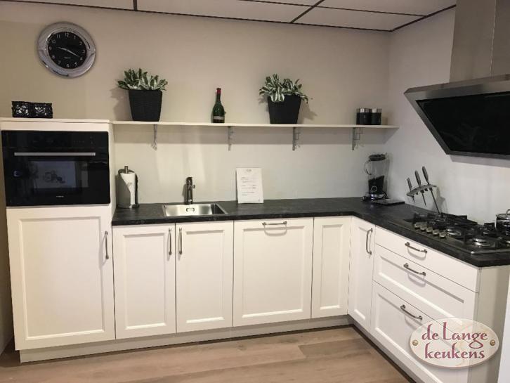 Lichte kaderdeur keuken elmino de lange keukens - Geloof lichte keuken ...