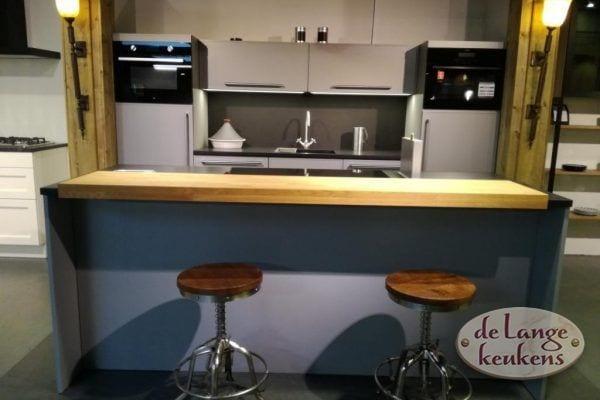 Inspiratie keuken Grigio met kook eiland