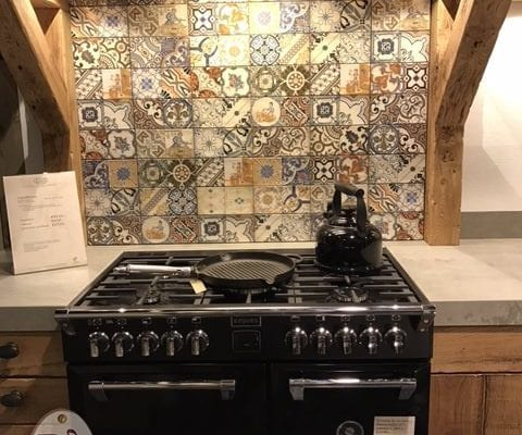 Nostalgische eiken keuken
