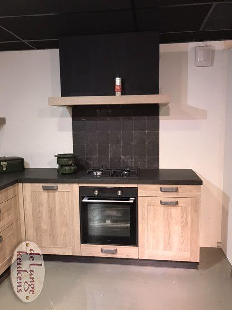 Landelijke houtdecor keuken Spinnerij - De Lange Keukens
