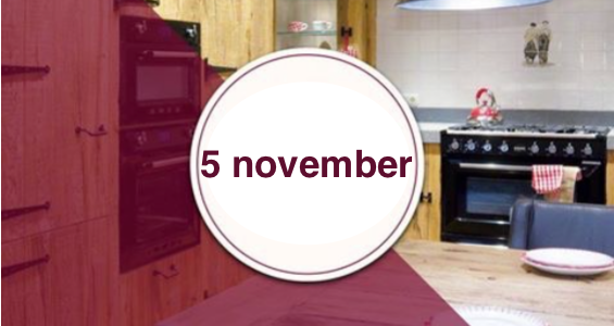 5 november kookzondag