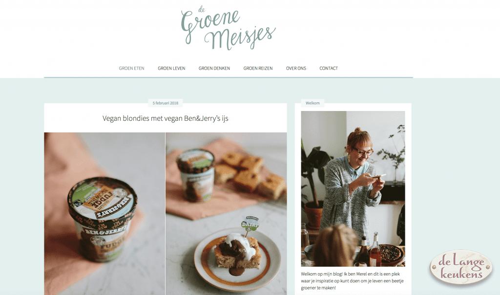 Foodblog De Groene Meisjes
