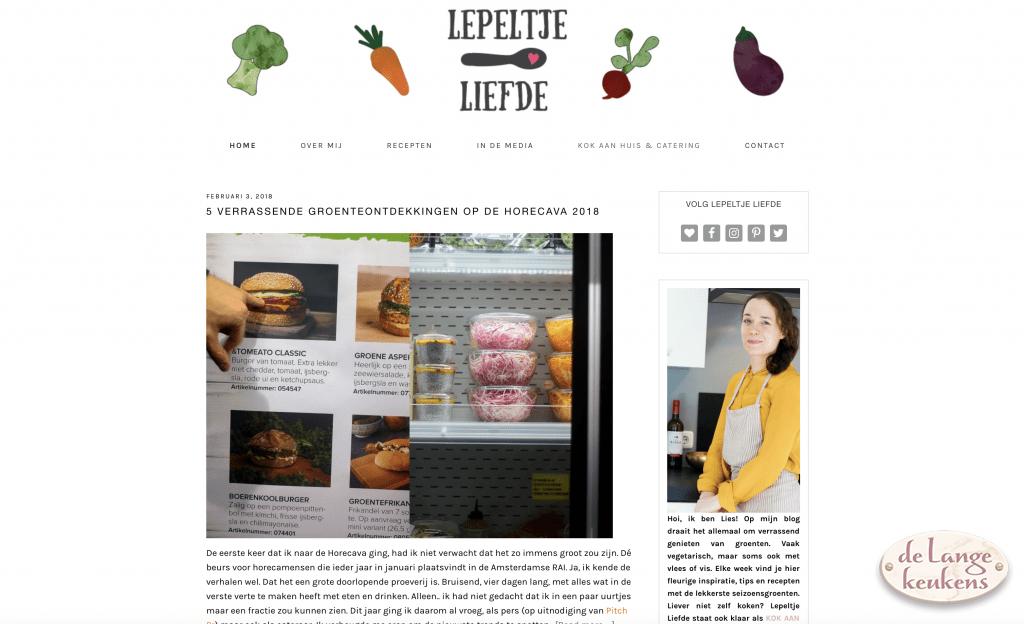 Foodblog Lepeltje Liefde