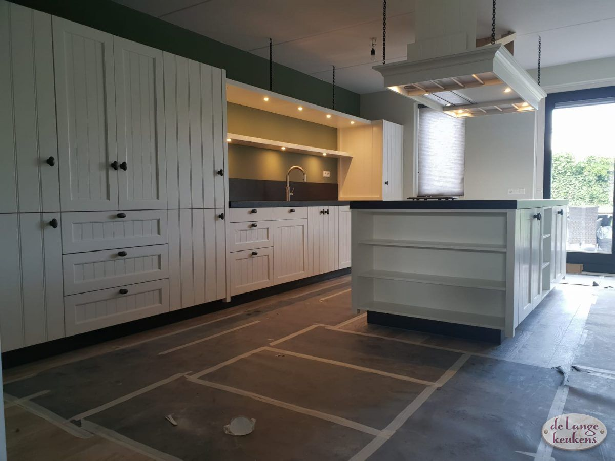 Witte Eiken Keuken : Nature eik cognac glastec plus wit hoogglans arco keukens
