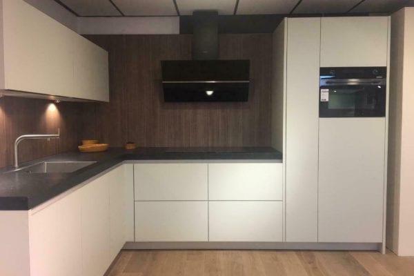 Showroom keuken greeploos mat